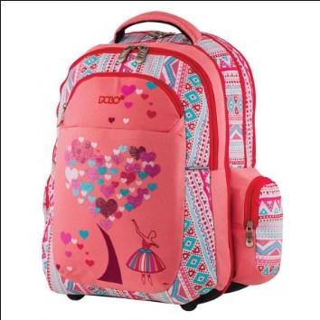 2188b20452 POLO ΣΑΚΙΔΙΑ - ΤΡΟΛΛΕΫ   ΚΑΣΕΤΙΝΕΣ   Σχολική τσάντα πλάτης Polo ...